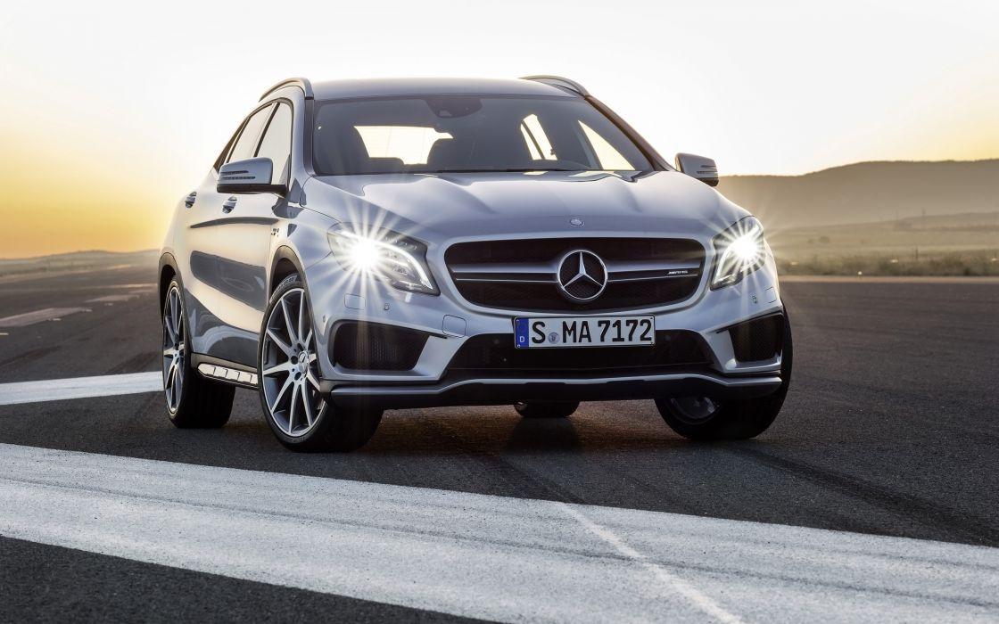 2014 Mercedes Benz GLA-45 AMG       f wallpaper