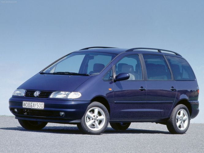 Volkswagen Sharan 1997 wallpaper