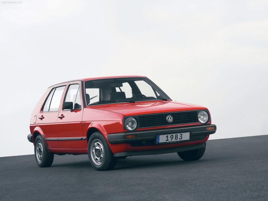 Volkswagen Golf II 1983 wallpaper