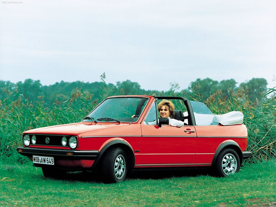 Volkswagen Golf Cabriolet 1979 wallpaper