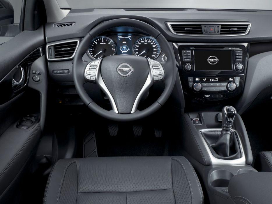 2014 Nissan Qashqai suv interior     f wallpaper