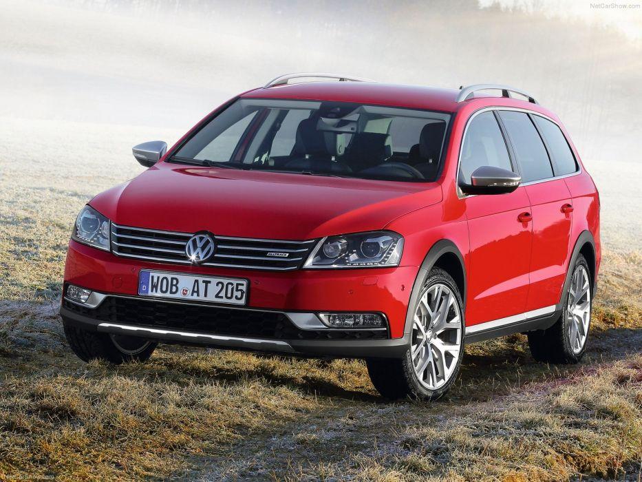 Volkswagen Passat Alltrack 2013 wallpaper