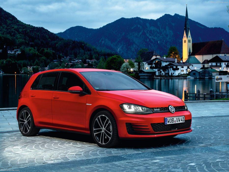Volkswagen Golf GTD 2014 wallpaper