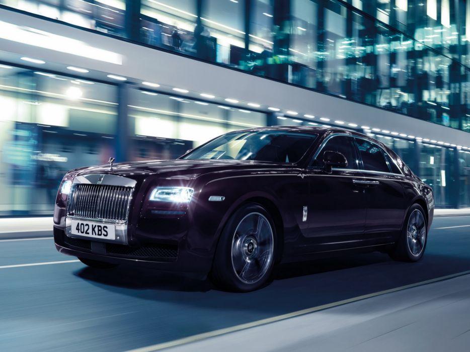 2014 Rolls Royce Ghost V-Specification luxury  f wallpaper