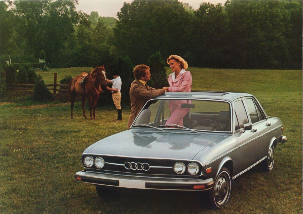 Audi 100 LS 1975 wallpaper