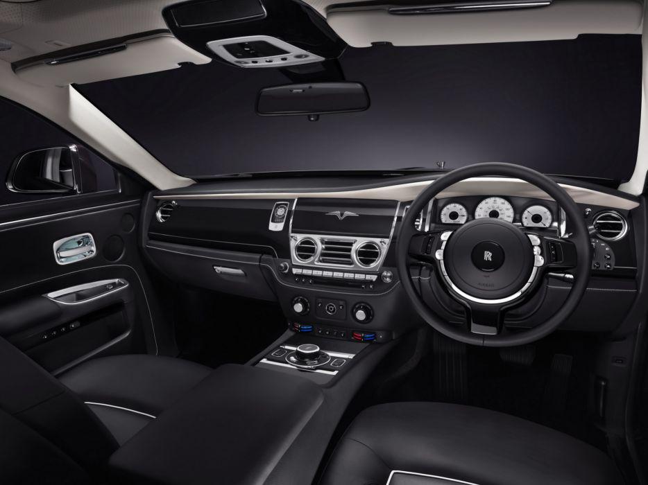 2014 Rolls Royce Ghost V-Specification luxury interior      g wallpaper