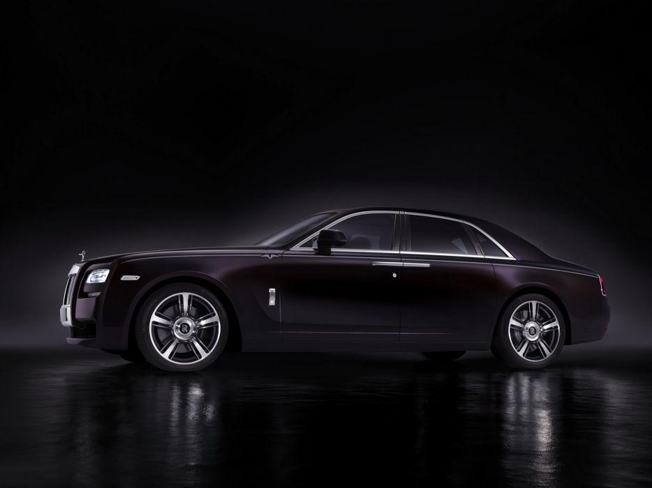 2014 Rolls Royce Ghost V-Specification luxury e wallpaper