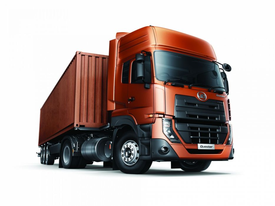 2014 UD-Trucks Quester 4x2 semi tractor  f wallpaper