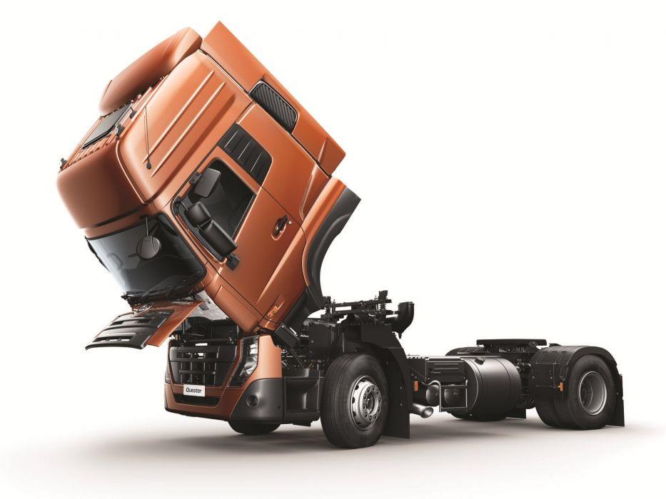 2014 UD-Trucks Quester 4x2 semi tractor       g wallpaper