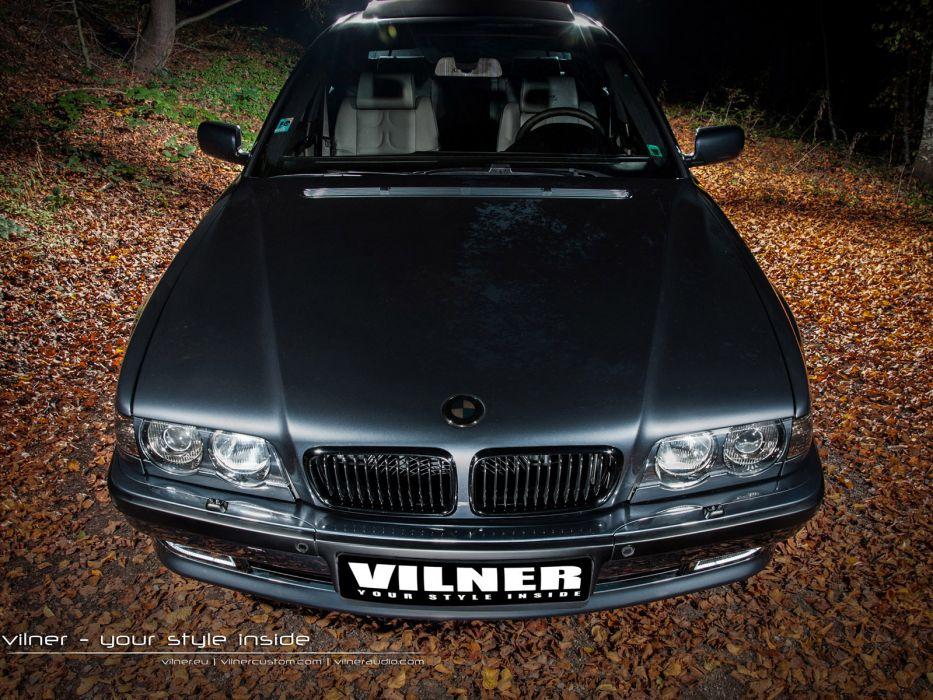 2014 Vilner BMW 7-Series 750 V12 tuning      h wallpaper
