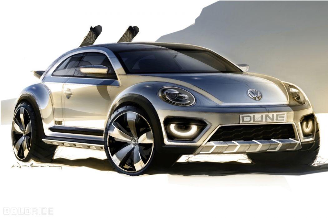2014 Volkswagen Beetle Dune Concept  tt wallpaper