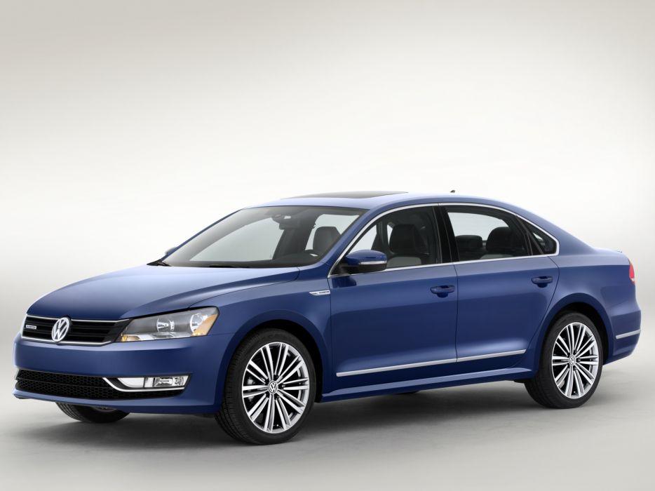 2014 Volkswagen Passat BlueMotion Concept   b wallpaper