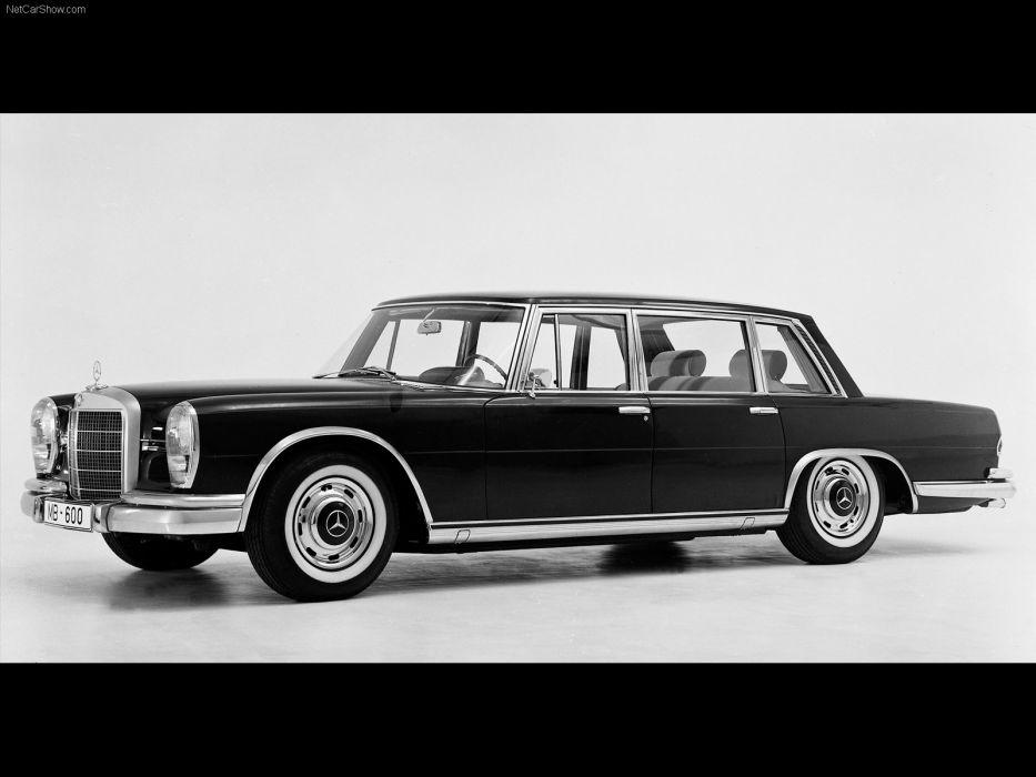 Mercedes-Benz 600 Pullman Limousine 1964 wallpaper