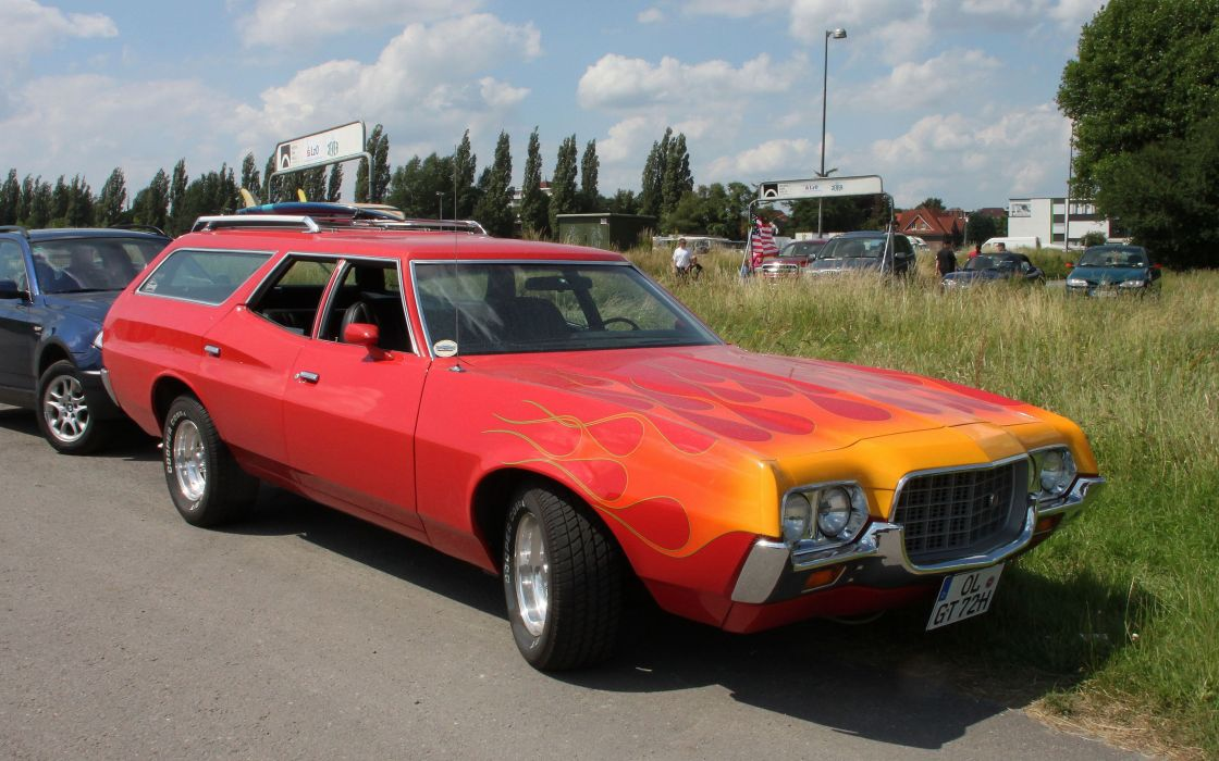Ford Gran Torino Wagon wallpaper