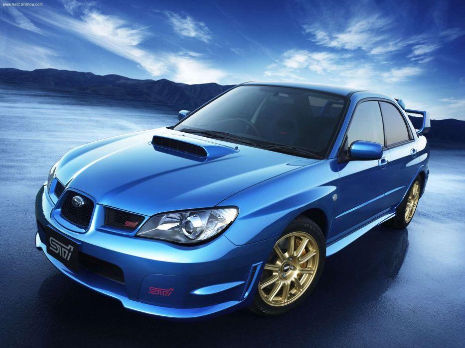 Subaru Impreza WRX STI 2006 wallpaper