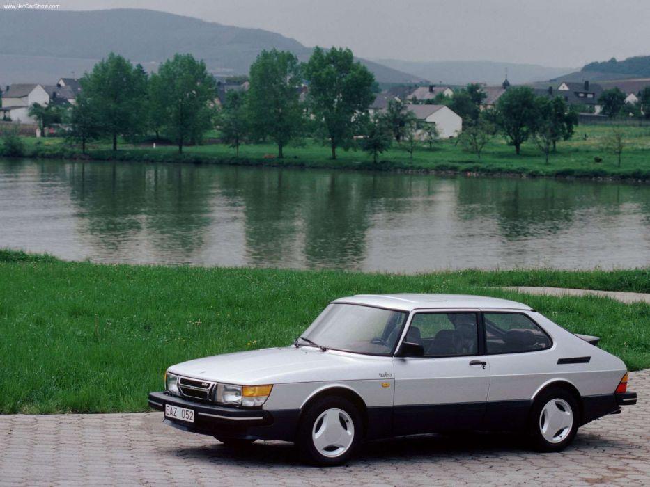 Saab 900 16S Turbo 1984 wallpaper