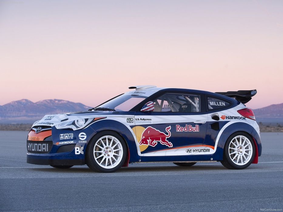Hyundai Veloster Rally Car 2011 wallpaper