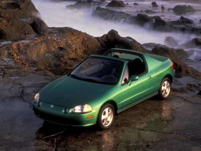 Honda Civic Del Sol Si 1993 wallpaper