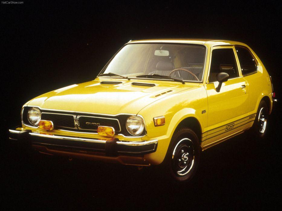 Honda Civic CVCC 1975 wallpaper