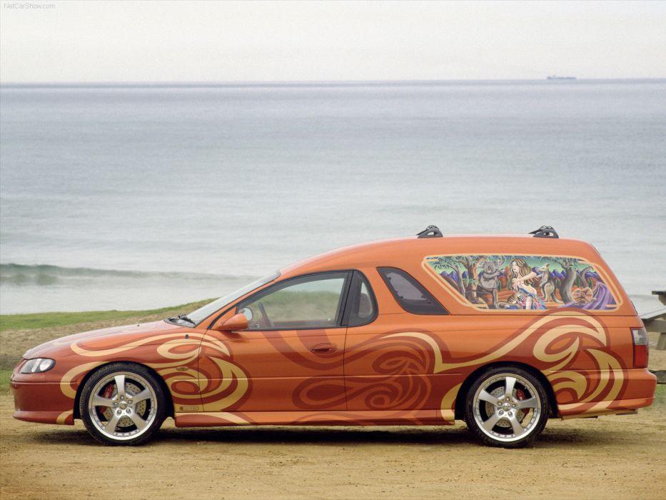 Holden Sandman Concept 2000 wallpaper