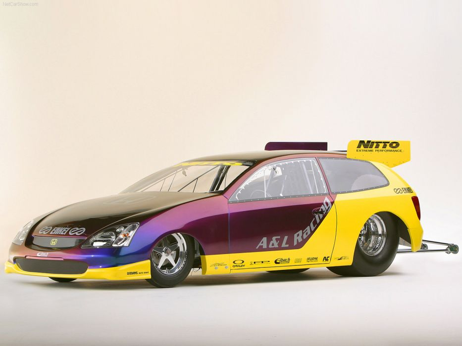 Honda Pro Drag Civic Si Concept 2003 wallpaper