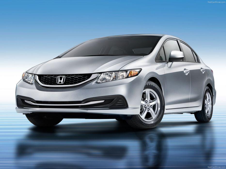 Honda Civic Natural Gas 2013 wallpaper
