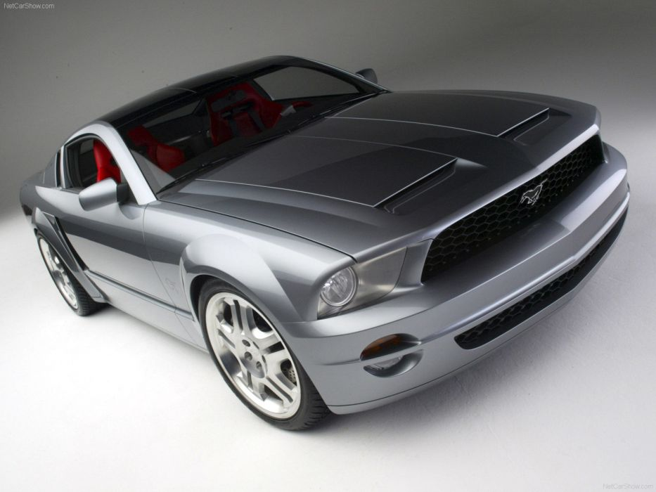 Ford Mustang GT Coupe Concept 2003 wallpaper