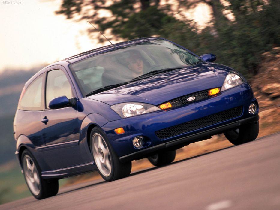 Ford SVT Focus 2002 wallpaper
