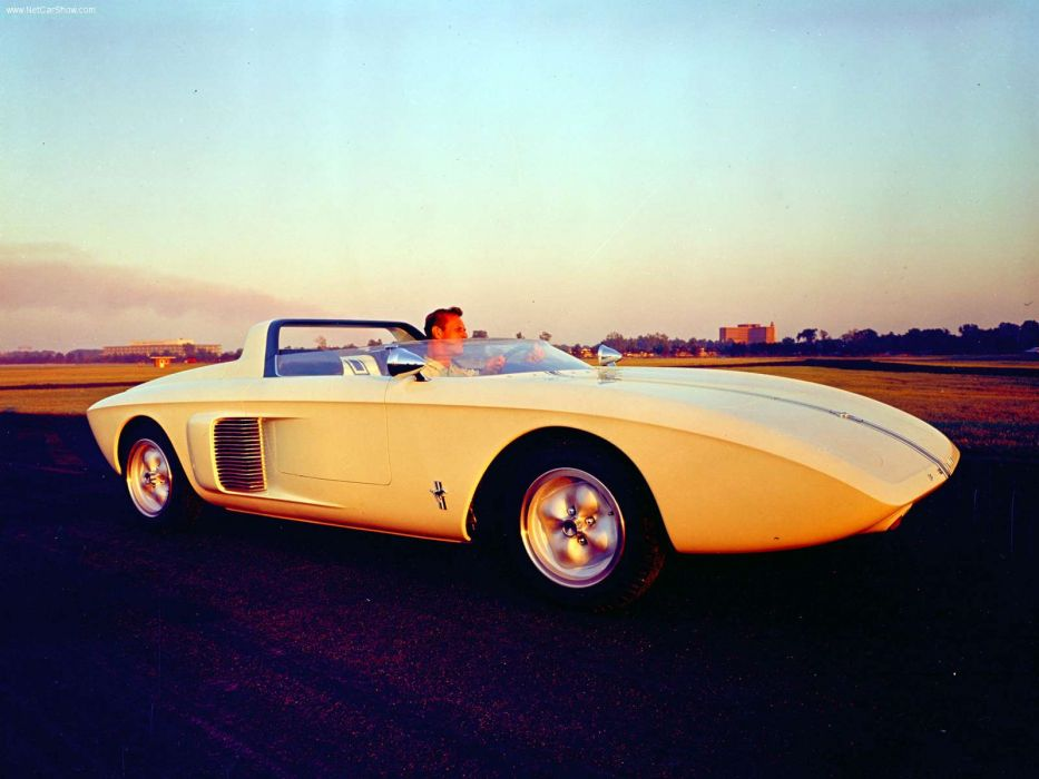 Ford Mustang Roadster Concept Car 1962 wallpaper