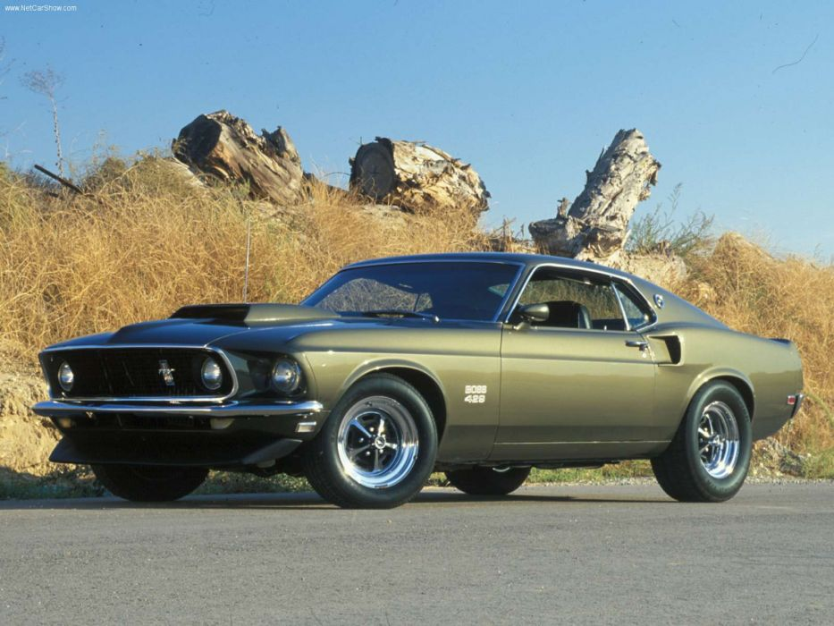 Ford Mustang Boss 429 1969 wallpaper