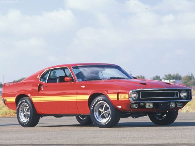 Ford Mustang Shelby GT500 1969 wallpaper