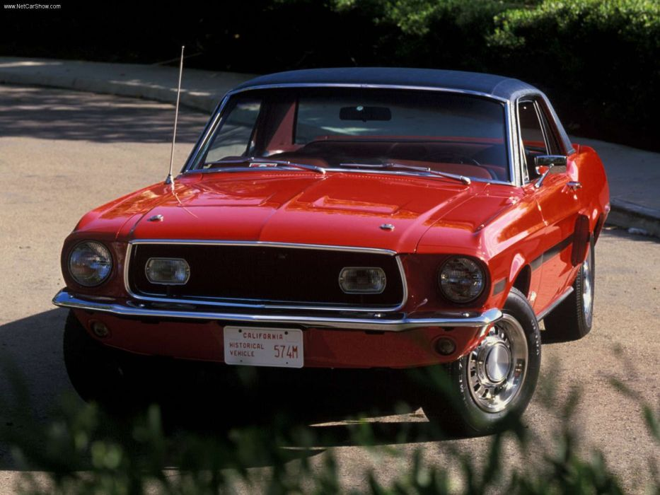 Ford Mustang High Country Special 1968 wallpaper