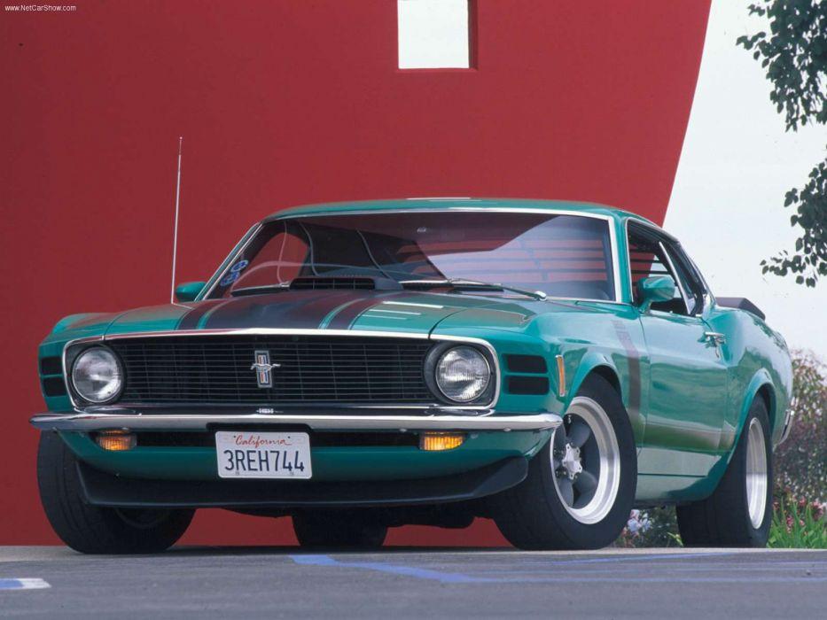 Ford Mustang Boss 302 1970 wallpaper