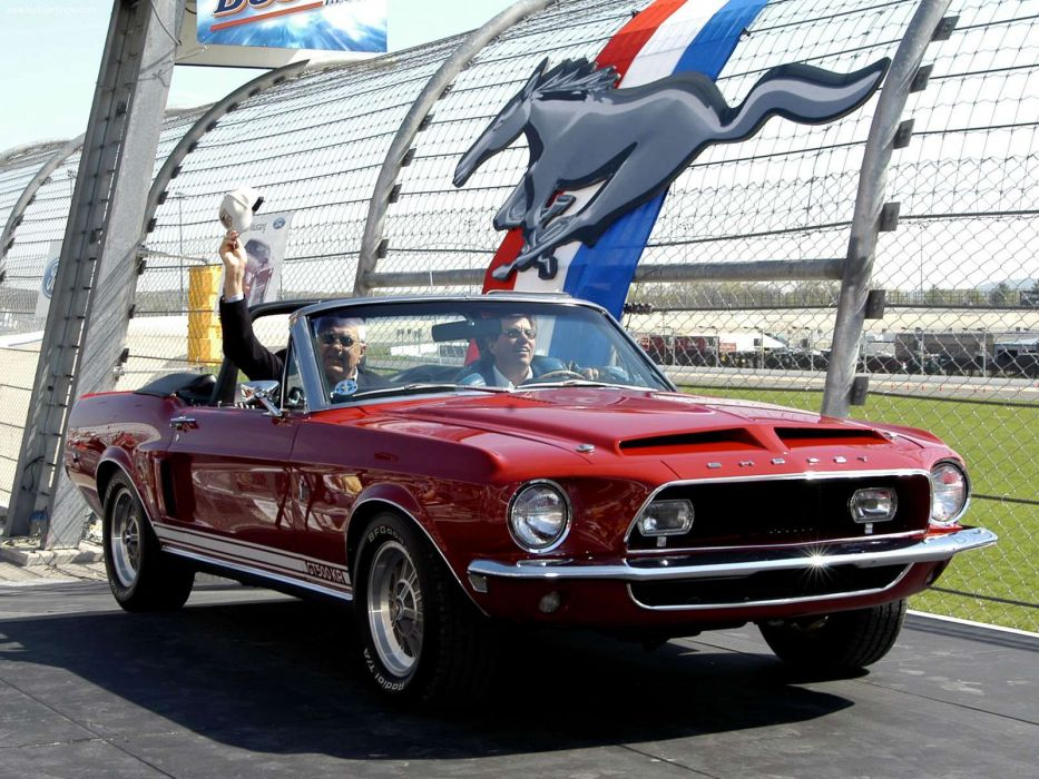 Ford Mustang Shelby GT500 KR 1968 wallpaper