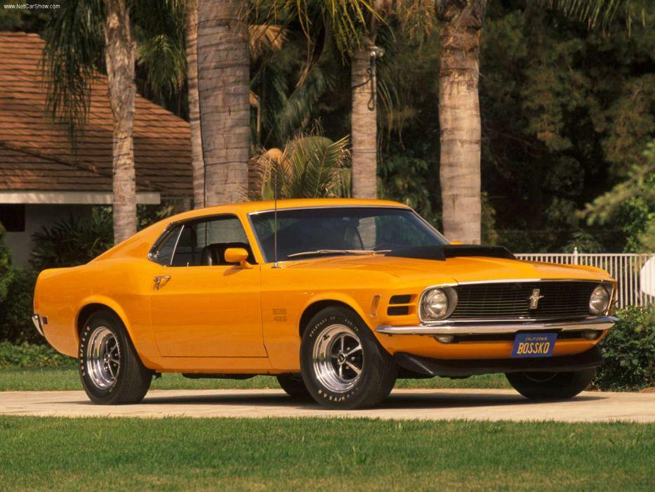 Ford Mustang Boss 429 1970 wallpaper