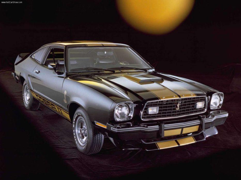 Ford Mustang Cobra II 1975 wallpaper