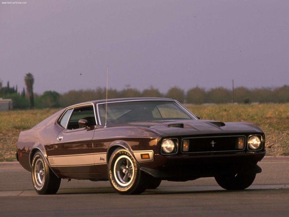 Ford Mustang Mach 1 1973 wallpaper