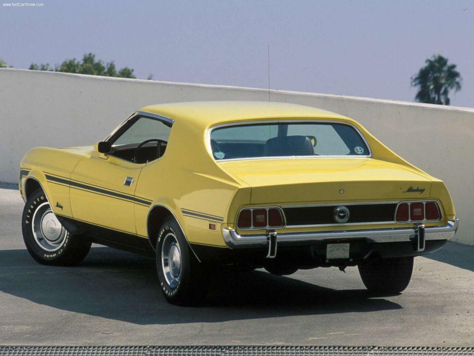 Ford Mustang Q-Code 1973 wallpaper
