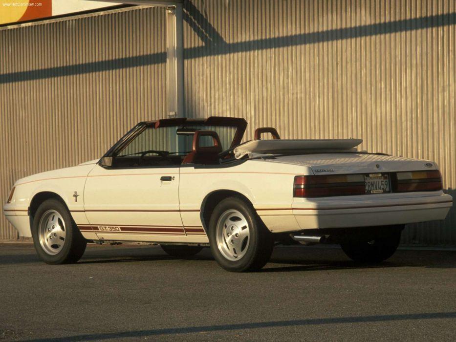 Ford Mustang Turbo GT350 1984 wallpaper