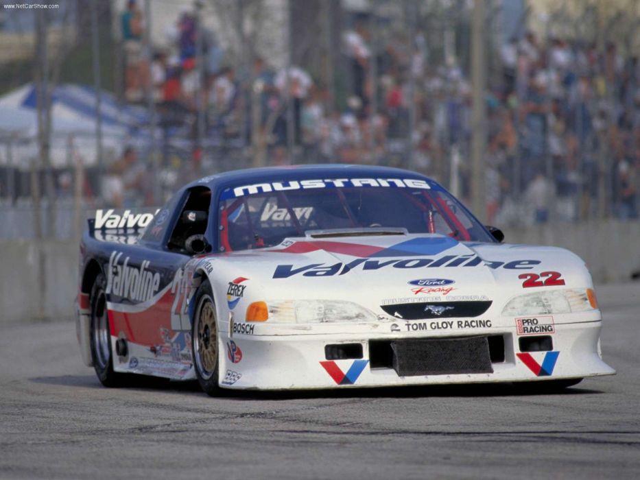 Ford Mustang Cobra Racecar 1997 Wallpaper 1600x1200 221999