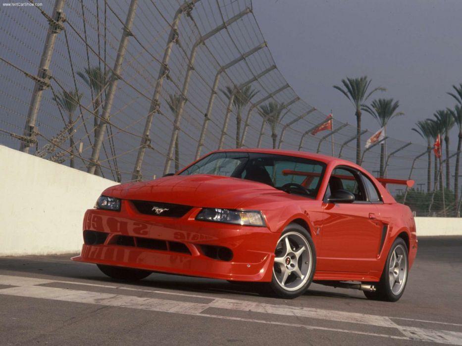 Ford Mustang SVT Cobra R 2000 wallpaper