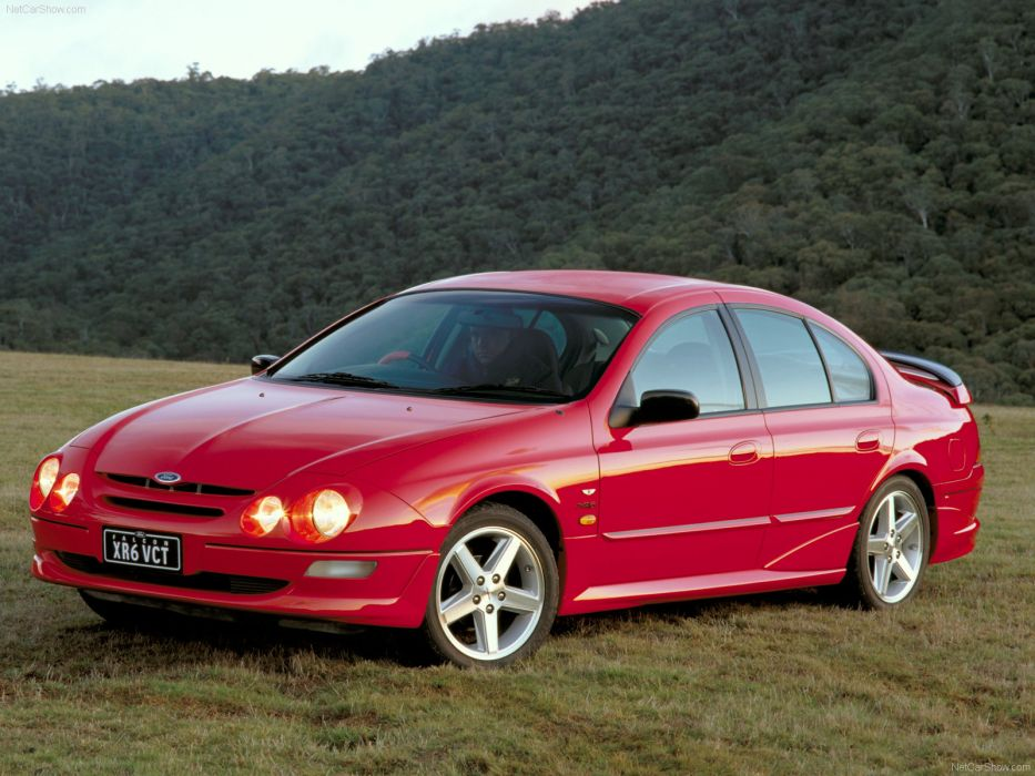 Ford AU Falcon XR6 VCT 1998 wallpaper