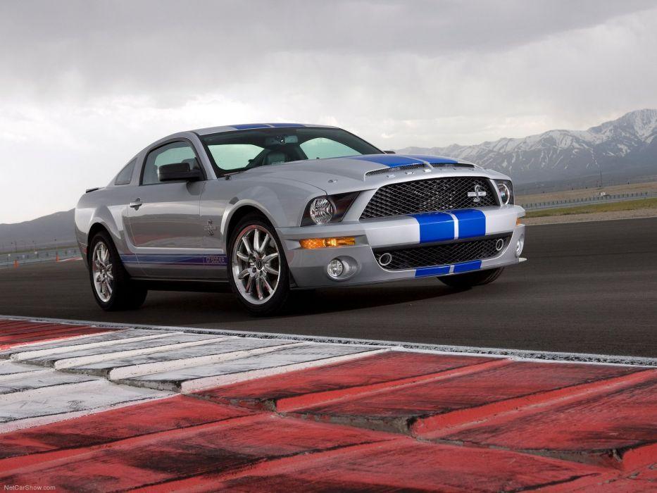 Ford Mustang Shelby GT500KR 2008 wallpaper