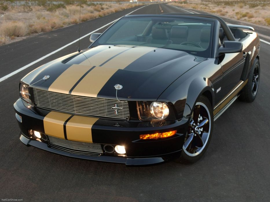 Ford Mustang Shelby GT-H Convertible 2008 wallpaper