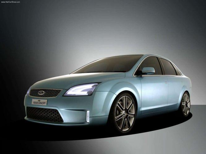 Ford Focus 4door Concept 2004 wallpaper