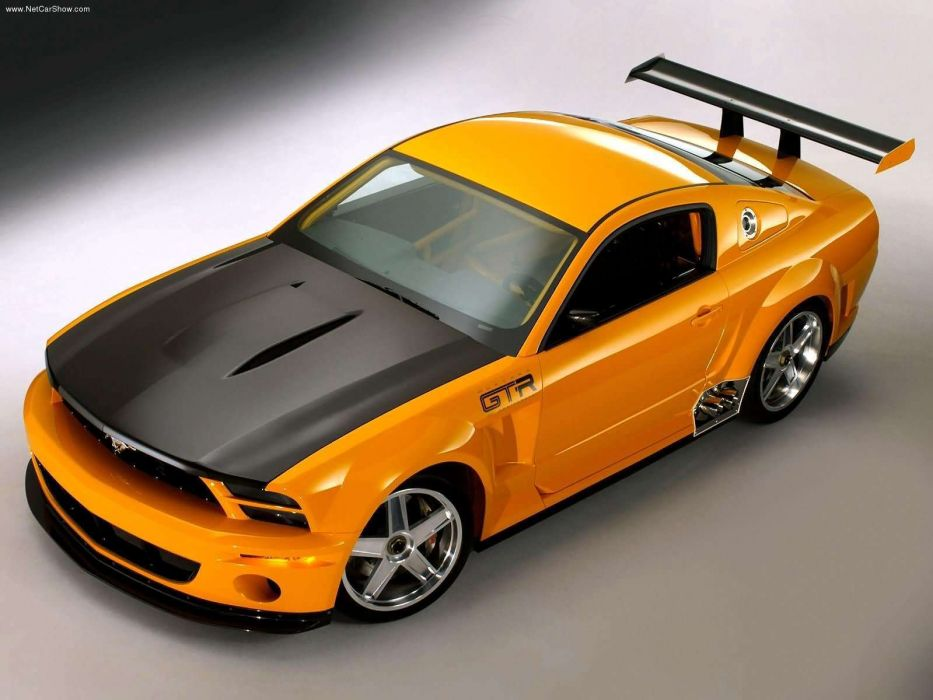 Ford Mustang GTR 40th Anniversary Concept 2004 wallpaper