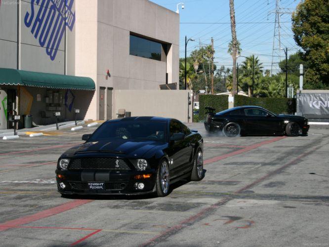 Ford Mustang Shelby GT500KR KITT 2008 wallpaper