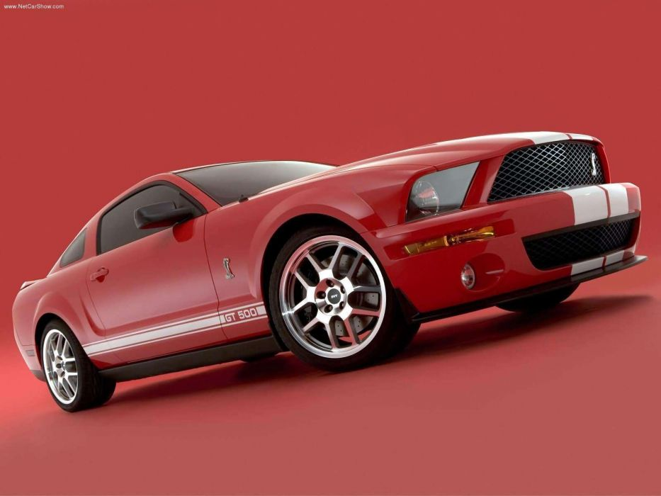 Ford Shelby SVT Cobra GT500 Mustang Show Car 2005 wallpaper