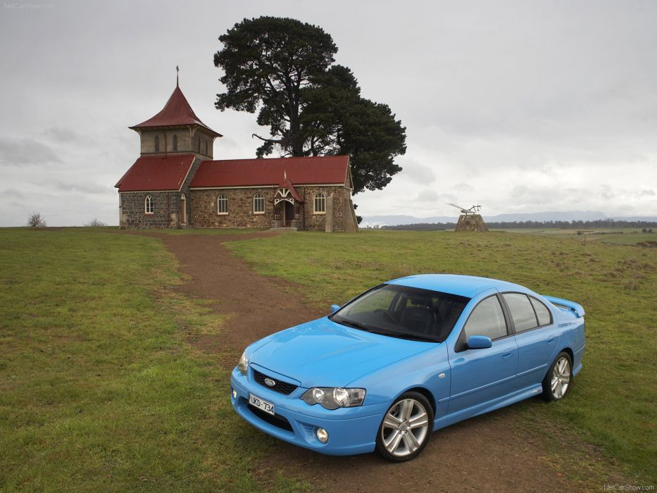 Ford BF MkII Falcon XR8 2006 wallpaper