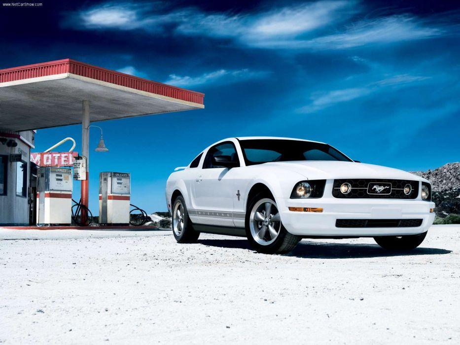 Ford Mustang V6 Pony 2006 wallpaper